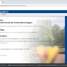 C@MPUS Startseite